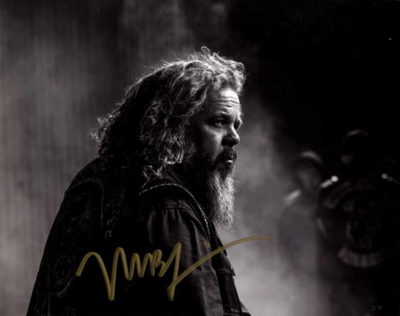 Mark Boone Jr. Autographed Signed 8x10 B/W SOA Photo AFTAL UACC RD COA