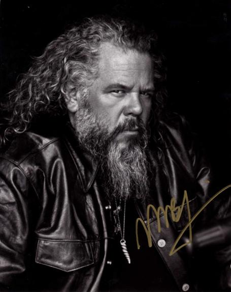Mark Boone Jr. Autographed Signed 8x10 Leather Jacket Photo AFTAL UACC RD COA