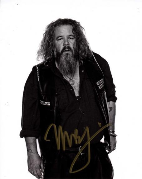 Mark Boone Jr. Autographed Signed 8x10 Redwood Original Photo AFTAL UACC RD COA