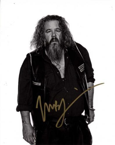 Mark Boone Jr. Autographed Signed 8x10 SOA Redwood Photo AFTAL UACC RD COA