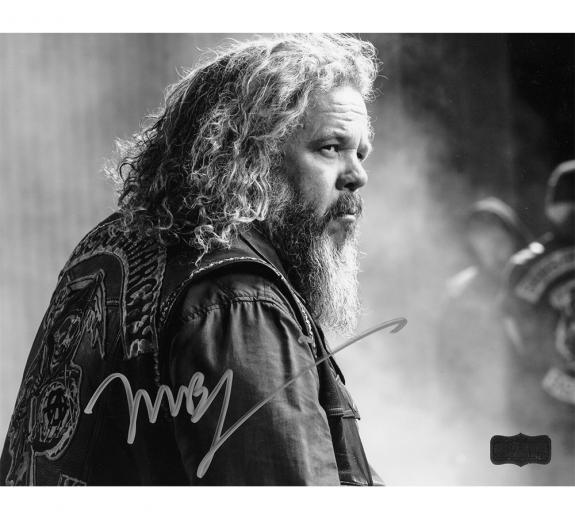 """Mark Boone Jr """"Bobby Munson"""" Autographed/Signed Iconic Sons of Anarchy Black & White 8×10 Photo"""