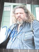 MARK BOONE JR SIGNED AUTOGRAPH 8x10 SONS OF ANARCHY IN PERSON LEATHER COA G