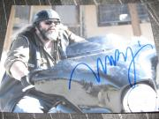 MARK BOONE JR SIGNED AUTOGRAPH 8x10 SONS OF ANARCHY IN PERSON LEATHER COA K