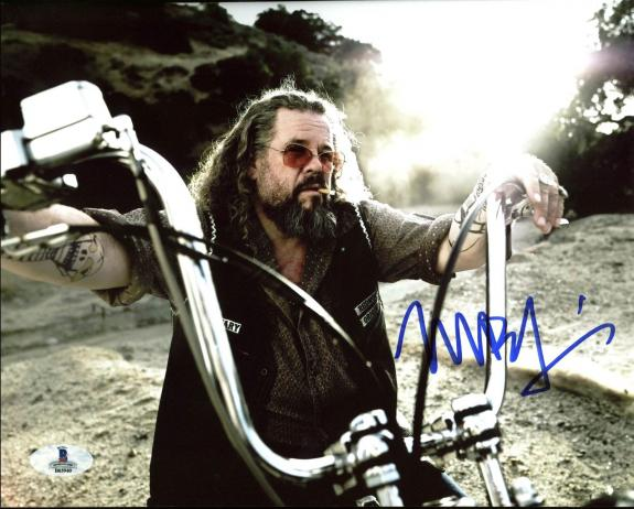 Mark Boone Junior Sons Of Anarchy Signed 8X10 Photo BAS #B03940