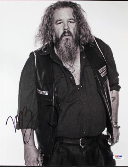 Mark Boone Junior Sons Of Anarchy Signed 11X14 Photo PSA/DNA #T22293