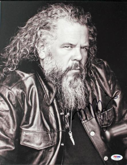 Mark Boone Junior Sons Of Anarchy Signed 11X14 Photo PSA/DNA #T22294