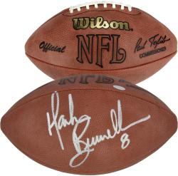 Mark Brunell Autographed Wilson Football - Mounted Memories