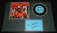 Mark Dodson Signed Framed 1984 Gremlins Album Display