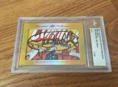 Mark Hamill 2017 Leaf Masterpiece Cut Signature auto signed 1/1 JSA Star Wars