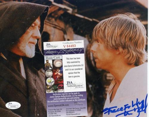 Mark Hamill Actor Pers. Removed Signed Autographed 8x10 Photo Jsa V64483
