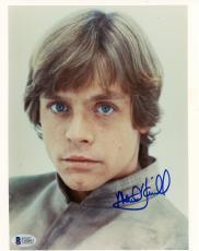 "Mark Hamill Autographed 8"" x 10"" Star Wars: The Empire Strikes Back Photograph - BAS COA"
