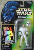 Mark Hamill autographed Luke Skywalker Toy Box Figure Star Wars 1996 (as pictured personalization removed)