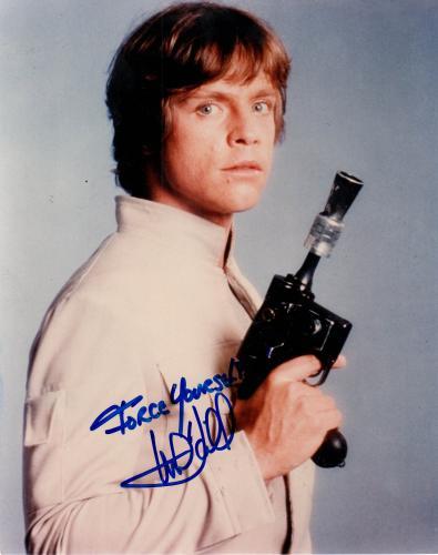 Mark Hamill Autographed Signed 8x10 Star Wars Photo RACC TS UACC RD AFTAL