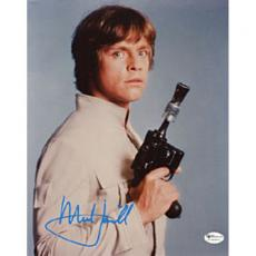 "Mark Hamill Autographed ""Star Wars"" Celebrity 8x10 Photo"