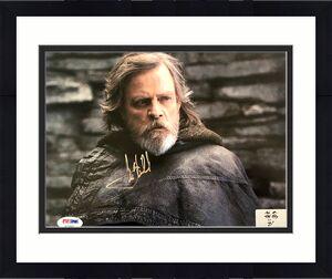 Mark Hamill Autographed 'Star Wars: The Last Jedi' 8x10 Photo