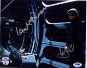 MARK HAMILL & IAN McDIARMID Signed STAR WARS 8x10 Photo PSA/DNA #AC06493