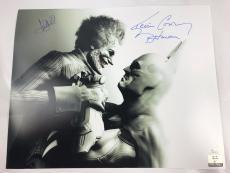 Mark Hamill Kevin Conroy Signed Autograph Authentic 16x20 Photo JSA Batman Joker