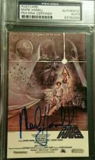Mark Hamill Luke Skywalker AUTO Signed Autograph PSA/DNA Star Wars