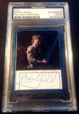 Mark Hamill Luke Skywalker Topps AUTO Signed Autograph PSA/DNA Star Wars Chrome