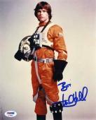 Mark Hamill Luke Star Wars Jedi Autographed Signed 8x10 Photo PSA/DNA COA