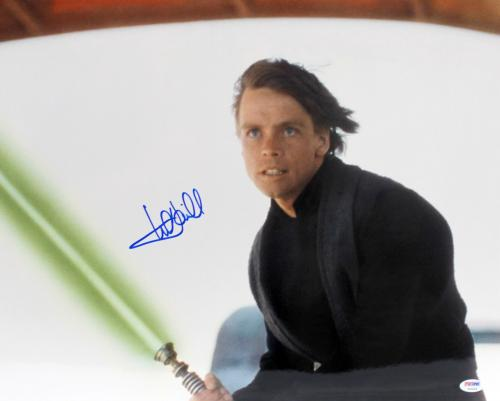 "Mark Hamill Signed Auto Star Wars ""luke Skywalker"" 16x20 Photo Psa/dna #y93454"