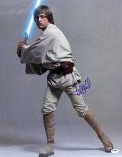 "Mark Hamill Signed Auto Star Wars ""luke Skywalker"" 16x20 Photo Psa/dna #y93459"