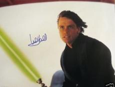 Mark Hamill signed auto Star Wars Return of the Jedi Luke Skywalker 16x20 poster