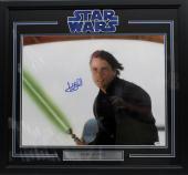 Mark Hamill Signed Autographed 16x20 Photo Framed Star Wars Luke Psa/dna Y93456