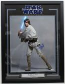 Mark Hamill Signed Autographed 16x20 Photo Framed Star Wars Luke Psa/dna Y93467