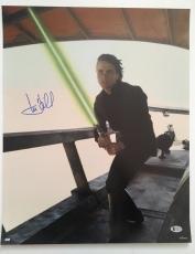 Mark Hamill Signed Autographed 16x20 Photo Star Wars Luke Skywalker BECKETT COA