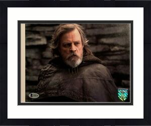 MARK HAMILL Signed Autographed STAR WARS Official Pix 8x10 Photo BAS #A58798