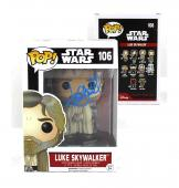 Mark Hamill Signed Funko Pop! Star Wars Series Luke Skywalker #106 with Proof Picture
