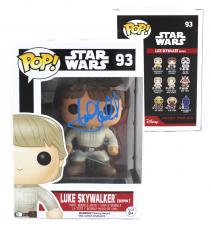 Mark Hamill Signed Funko Pop! Star Wars Series Luke Skywalker (Bespin) #93 with Proof Picture