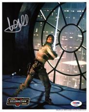 "MARK HAMILL Signed ""Luke Skywalker"" STAR WARS 8x10 Photo PSA/DNA #AC68684"