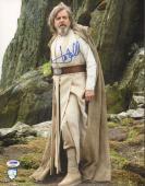 "MARK HAMILL Signed ""Luke"" STAR WARS The Last Jedi 11x14 Photo PSA/DNA #AC94600"