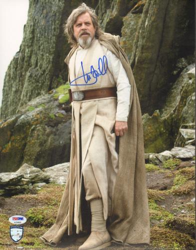 "MARK HAMILL Signed ""Luke"" STAR WARS The Last Jedi 11x14 Photo PSA/DNA #AC94600"