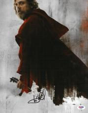 Mark Hamill Signed Star Wars Last Jedi Autographed 11x14 Photo PSA/DNA #AD68667