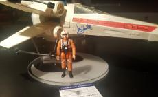 Mark Hamill Signed Vintage Star Wars X-wing + Figure PSA/DNA AUTHENTIC Autograph