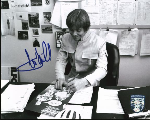 Mark Hamill Star Wars Signed 8x10 Photo Autographed BAS #A57332