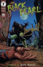 Mark Hamill/Erik Johnson Signed Black Pearl Autographed Comic Book PSADNA#Z50647