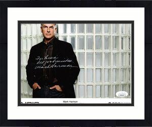 MARK HARMON HAND SIGNED 8x10 COLOR PHOTO     JETHRO FROM NCIS    TO LISA     JSA