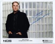 MARK HARMON HAND SIGNED 8x10 COLOR PHOTO+COA        JETHRO FROM NCIS    TO DAVE
