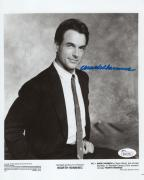 MARK HARMON HAND SIGNED 8x10 PHOTO       YOUNG+HANDSOME POSE FROM 80's       JSA