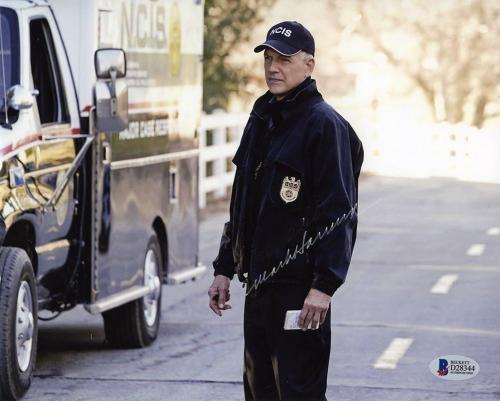 Mark Harmon NCIS Autographed Signed 8x10 Photo Certified Authentic BAS COA