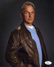Mark Harmon NCIS Autographed Signed 8x10 Photo Certified Authentic JSA COA