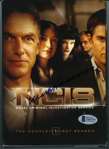 Mark Harmon NCIS First Season DVD Set Autographed Signed Authentic BAS COA AFTAL