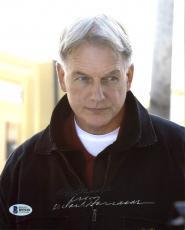 Mark Harmon NCIS Signed 8X10 Photo Autographed BAS #B93928