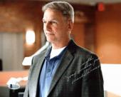 Mark Harmon NCIS Signed 8x10 Photo Autographed BAS #C19358