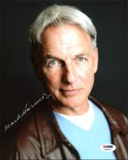 Mark Harmon NCIS Signed 8X10 Photo Autographed PSA/DNA #AA83682