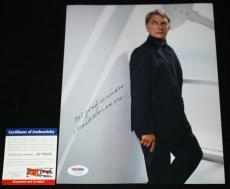 Mark Harmon signed 8 x 10, NCIS, The West Wing, Beckett BAS